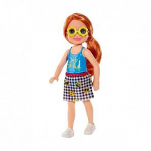 Купить кукла barbie челси в голубой майке 13 см ( id 11437576 )