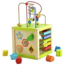 Купить игрушки из дерева d260 универсальный куб