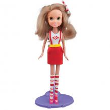 Купить набор для лепки с куклой fashion dough - блондинка в красной юбке 6867051