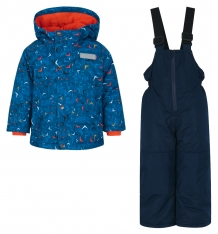 Купить комплект куртка/полукомбинезон salve by gusti, цвет: голубой ( id 9819960 )