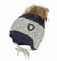 Купить шапка jamiks, цвет: серый/синий ( id 9766377 )