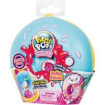 """Купить игровой набор moose pikmi pops """"большой плюшевый пончик"""", голубой ( id 12246362 )"""
