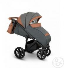 Купить прогулочная коляска camarelo cone, цвет: серый жакард/коричневый ( id 10053474 )