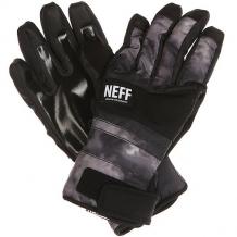 Купить перчатки сноубордические neff digger glove black/crystal черный,серый ( id 1177206 )