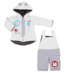 Купить комплект куртка/полукомбинезон koala roger, цвет: серый ( id 3463550 )