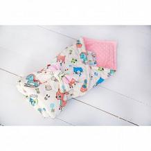 Купить slingme конверт-одеяло детство 90 х 90 см, цвет: розовый ( id 12797626 )
