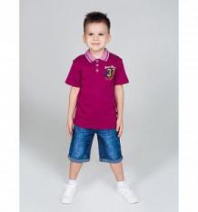Купить футболка-поло sweet berry острова, цвет: малиновый ( id 10342784 )