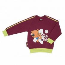 Купить джемпер lucky child ми-ми-мишки, цвет: бордовый ( id 11624116 )