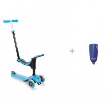 Купить трехколесный самокат globber primo plus lights и звонок-фонарик для самокатов mini hornit 25 мелодий