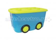 Купить idea (м-пластика) ящик для игрушек моби 2598