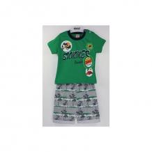 Купить комплект футболка/шорты bidirik, цвет: зеленый 761
