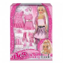 Купить toys lab кукла ася блондинка в розовом розовый стиль 35080