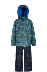 Купить комплект куртка/полукомбинезон zingaro by gusti, цвет: синий ( id 6495967 )