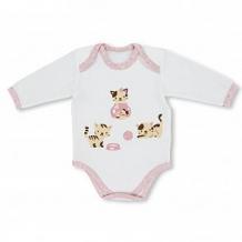 Купить боди leo котейка, цвет: розовый ( id 12605686 )