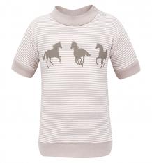 Купить футболка мамуляндия волшебная зима, цвет: серый 16-107,поло