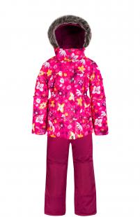 Купить комплект куртка/полукомбинезон zingaro by gusti, цвет: розовый ( id 6495577 )