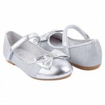 Купить туфли santa&barbara, цвет: серебряный ( id 11358322 )