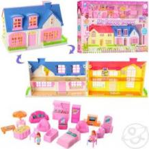 Купить игровой набор игруша домик в наборе с мебелью ( id 196236 )
