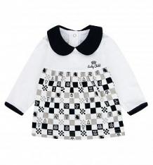 Купить джемпер lucky child шахматный турнир, цвет: молочный/бежевый ( id 5753521 )