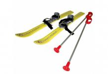 Купить gismo riders детские лыжи с палками и креплениями baby ski 90 см 13736