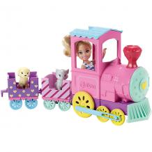 Купить набор с куклой barbie паровозик челси ( id 8422459 )