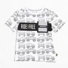 Купить футболка coccodrillo, цвет: белый ( id 12804598 )