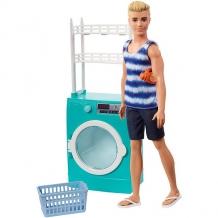 Купить mattel barbie fyk52 барби кен и набор мебели