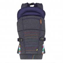 Купить рюкзак-переноска little bird, синий mothercare 2540328