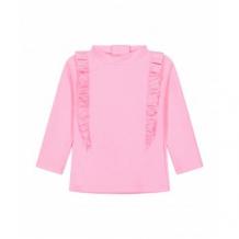 Купить футболка солнцезащитная с оборками, розовый mothercare 4195922