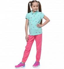 Купить футболка-поло anta dance, цвет: бирюзовый ( id 10304132 )
