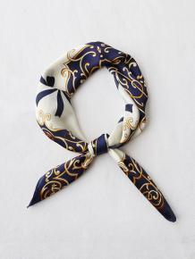 Купить bowknot ribbon printed silky square scarf ( id 455685302 )