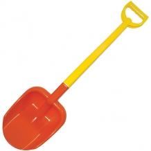 Купить лопата двухцветная zebratoys, 66 см, красная 10018555
