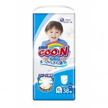 Купить goon подгузники-трусики big (xl) для мальчиков (12-20 кг) 38 шт. 753464/853629