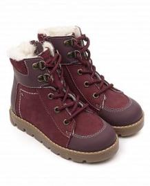Купить ботинки tapiboo, цвет: бордовый ( id 11814838 )