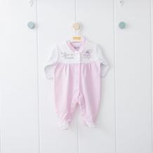 Купить комбинезон kidaxi, цвет: розовый/белый ( id 10600403 )