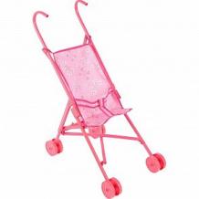 Купить коляска для кукол 1toy красотка розовая ( id 419515 )