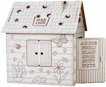 Купить bibalina дом-раскраска английский алфавит bbl003-001
