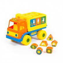 Купить сортер полесье логический грузовичок миффи с 6 кубиками №1 64394