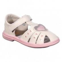 Купить сандалии топ-топ, цвет: белый/розовый ( id 11862268 )