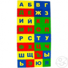 Купить коврик-пазл eco-cover русский алфавит (32 дет.) 200 х 100 см ( id 8706343 )