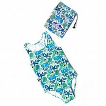 Купить купальник слитный aruna морские звезды, цвет: бирюзовый ( id 12608386 )