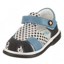 Купить сандалии топ-топ, цвет: голубой/черный ( id 12016252 )