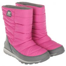 Купить детский sorel youth whitney mid pink ice quarry темно-розовый ( id 1189716 )