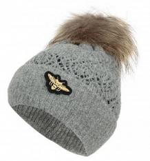 Купить шапка jamiks vanessa i, цвет: серый ( id 9805158 )