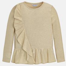 Купить футболка с длинным рукавом mayoral для девочки 8849012