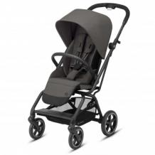 Купить коляска прогулочная cybex eezy s twist+ 2 blк soho grey с бампером и дождевиком, серый cybex 997172555