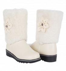Купить сапоги twins, цвет: белый ( id 9805914 )