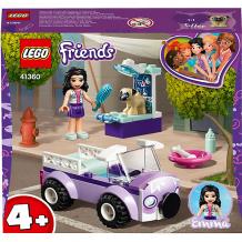 Купить конструктор lego friends 41360: передвижная ветклиника эммы 9167509