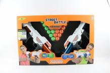 Купить 1 toy игрушечное оружие street battle с мягкими шариками 20 шт. т13652