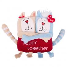 Купить мягкая игрушка gulliver кот и кошка «счастливы вместе», 15 см 51-t78022d